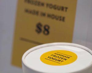 canary frozen yogurt
