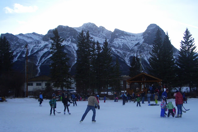 Canmore pond
